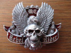REBEL RIDER BELT BUCKLE